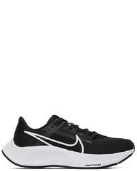 Nike Black White Air Zoom Pegasus 38 Sneakers