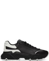 Dolce & Gabbana Black White Daymaster Sneakers