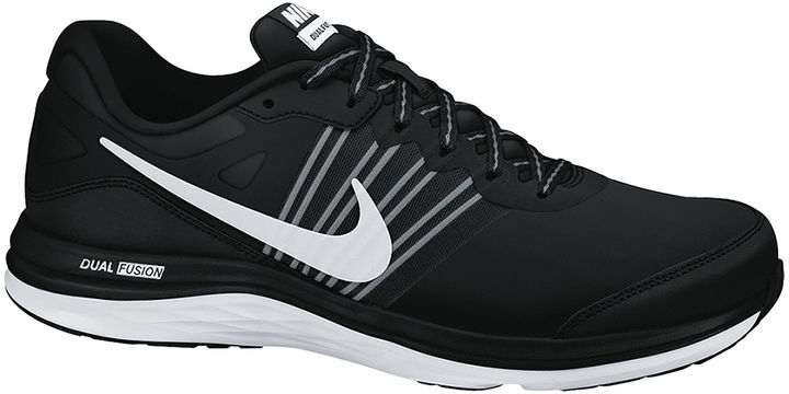 Nike Dual Fusion X Black White shoes online hot sale
