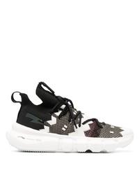 Neil Barrett Geometric Pattern Low Top Sneakers