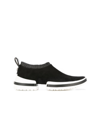 Stuart Weitzman Slip On Sock Sneakers