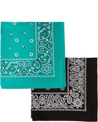 Levi's 2 Pack Printed Bandanas