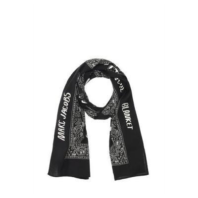 MARC JACOBS SPECIAL Marc Jacobs Dinosaur Bandana Blanket Scarves Blackbluered