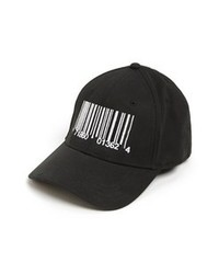 Black and White Baseball Cap