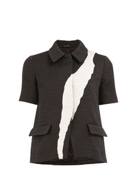 Maison Margiela Jacquard Short Sleeve Jacket