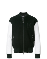Black and White Bomber Jackets for Men | Men's Fashion