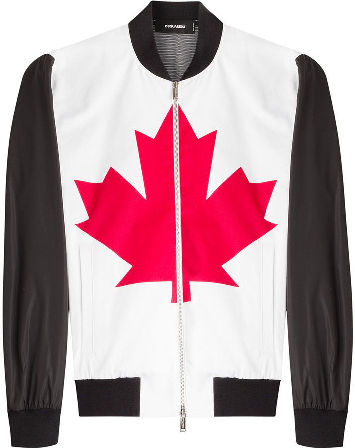 DSQUARED2 Canadian Bomber Jacket | Where to buy & how to wear