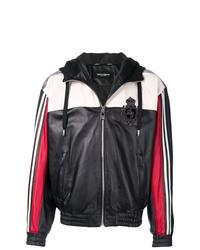 Dolce & Gabbana Colour Block Zipped Jacket