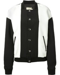 Fausto Puglisi Colour Block Bomber Jacket