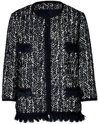 Boucle jacket medium 130195