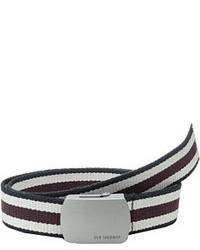 Ben Sherman Striped Webbing Belt