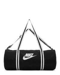 Nike Black Heritage Duffle Bag