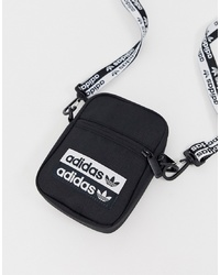 adidas Originals Vocal Logo Flightbag In Black