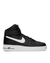 Nike Black Air Force 1 High 07 An20 Sneakers