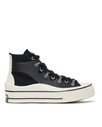 Converse Black Kim Jones Edition Chuck 70 Utility Wave Hi Sneakers