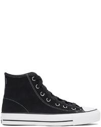 Converse Black Suede Cons Ctas Pro Sneakers