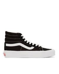 Vans Black Ua Sk8 Hi Lx Sneakers