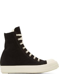 Drkshdw black white capped high tops medium 220189