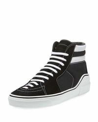 George canvas high top sneaker blackwhite medium 6984486