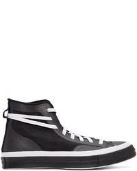 Converse White Black Mesh Chuck 70 Sneakers