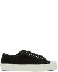 Black canvas novesta edition sneakers medium 429593