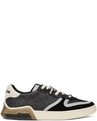 Coach 1941 Black Citysole Signature Court Sneakers
