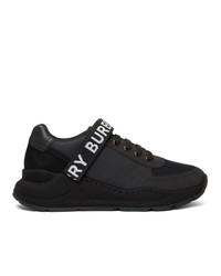 Burberry Black Ronnie Zig Sneakers