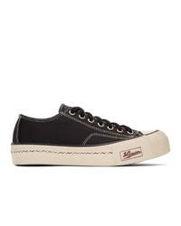 Visvim Black Skagway Lo Patten Sneakers