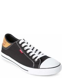 Levi's Black White Stan Buck Low Top Sneakers