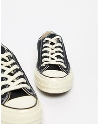 Converse Chuck 70 Ox Trainers In Black