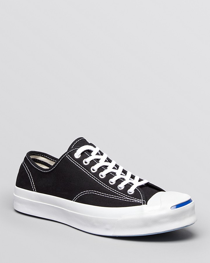 Converse Jack Purcell Signature Low Top Shoes Black