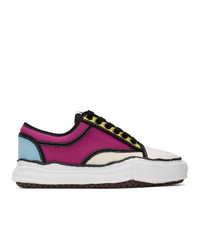 Miharayasuhiro Multicolor Sole Trick Detail Lowcut Sneakers