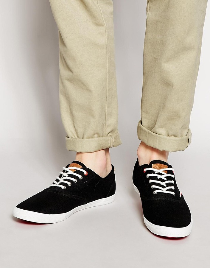 Jack   Jones Spider Canvas Sneakers   Where to buy   how to wear 29bb4bd5e8ed
