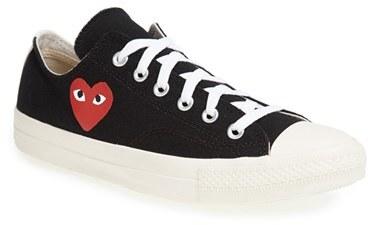 d20a70026d31 Comme des Garcons Play X Converse Chuck Taylor Low Top Sneaker
