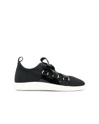 Giuseppe Zanotti Design Slip On Ribbon Tie Sneakers