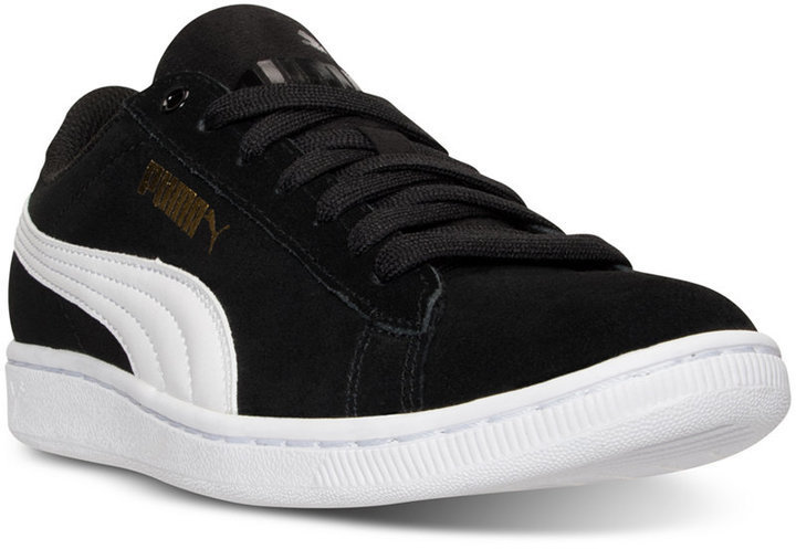 122bd6c9cee3 ... Puma Vikky Canvas Casual Sneakers From Finish Line ...
