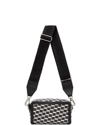 Pierre Hardy Black And White Cube Box Messenger Bag