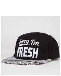 Absolutely Sorry Im Fresh Snapback Hat
