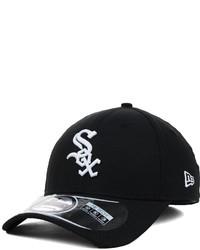 New Era Chicago White Sox Mlb Diamond Era Black 39thirty Cap