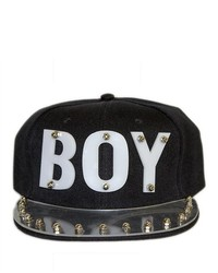 Soho Girl Boy Studded Snapback