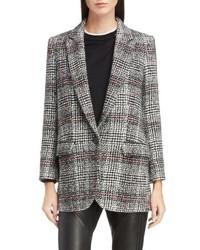 Isabel Marant Etoile Ice Check Wool Blazer