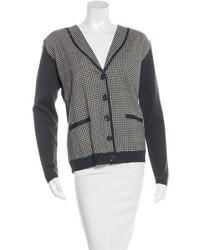 See by chlo checked wool cardigan medium 3667404