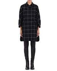 Sacai Open Sides Coat Black Size 1
