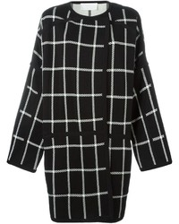 Chloé Reversible Checked Coat