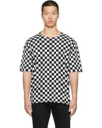 Saint Laurent Cotton Checkerboard T Shirt