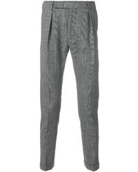 Black and White Check Dress Pants