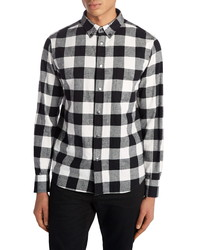 Moncler Buffalo Check Flannel Shirt