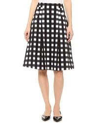 Marissa Webb Ella Check Skirt