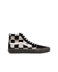 57bf85d64 Vans Black And White Vault X Taka Hayashi Sk8 Hi Sneakers