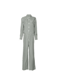 Sonia Rykiel Checked Jumpsuit